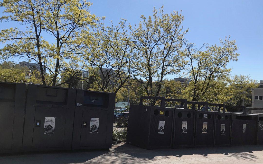 Kierrätys mahdollisuudet Munkkivuoressa
